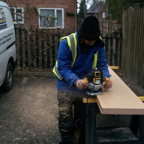 Joinery and Brick work